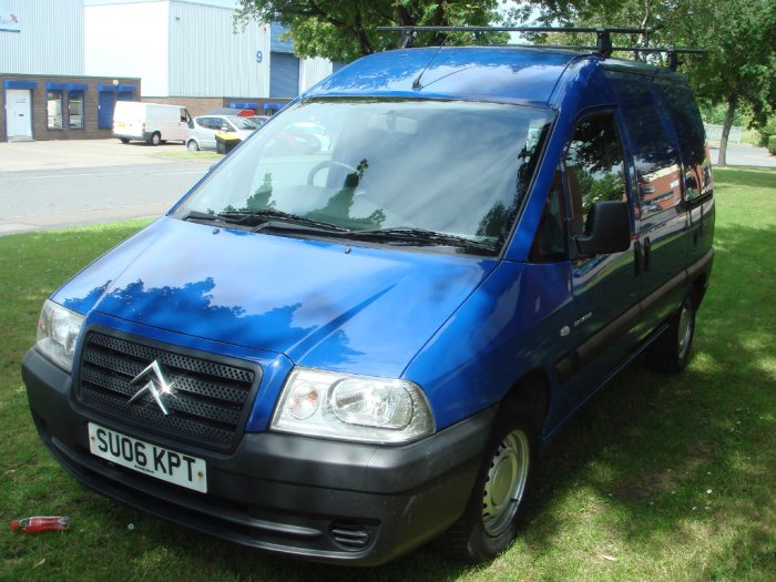 Citroen Dispatch 1.9 D Enterprise Van 815Kg Commercial Diesel Blue