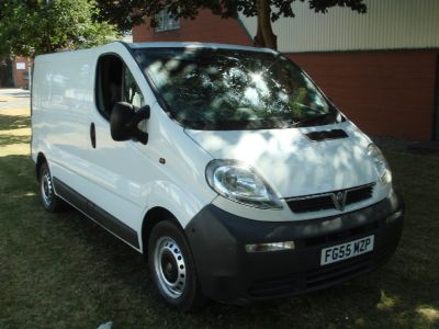 Vauxhall Vivaro 1.9DTi Van 2.7t Excellent original condition Commercial Diesel WhiteVauxhall Vivaro 1.9DTi Van 2.7t Excellent original condition Commercial Diesel White at Chequered Flag GB LTD Leeds