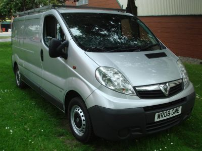 Vauxhall Vivaro 2.0CDTI [115PS] VAN 2.9T Commercial Diesel SilverVauxhall Vivaro 2.0CDTI [115PS] VAN 2.9T Commercial Diesel Silver at Chequered Flag GB LTD Leeds