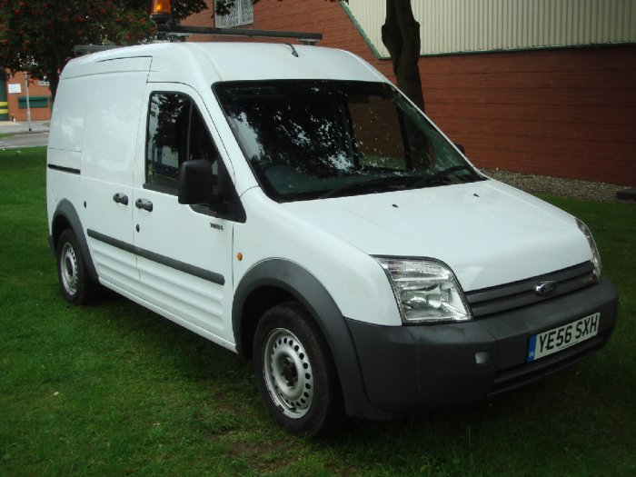Ford Transit Connect 1.8 High Roof Crew Van L TDCi 90ps Commercial Diesel White
