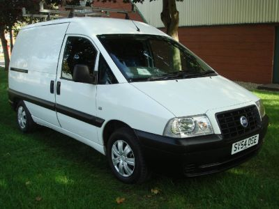 Fiat Scudo 1.9 EL Van Commercial Diesel WhiteFiat Scudo 1.9 EL Van Commercial Diesel White at Chequered Flag GB LTD Leeds