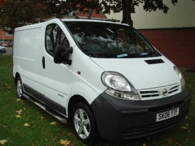 Nissan Primastar 1.9dCi SE Van 100ps Commercial Diesel WhiteNissan Primastar 1.9dCi SE Van 100ps Commercial Diesel White at Chequered Flag GB LTD Leeds