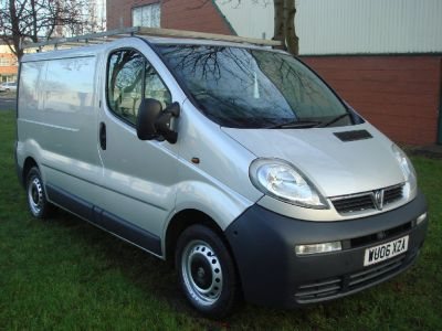 Vauxhall Vivaro 1.9CDTI [100PS] Van 2.7t Commercial Diesel SilverVauxhall Vivaro 1.9CDTI [100PS] Van 2.7t Commercial Diesel Silver at Chequered Flag GB LTD Leeds
