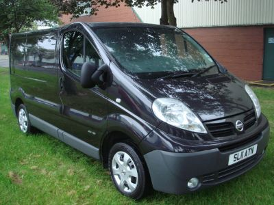 Nissan Primastar 2.0 dCi SE Van 115ps Panel Van Diesel BlackNissan Primastar 2.0 dCi SE Van 115ps Panel Van Diesel Black at Chequered Flag GB LTD Leeds