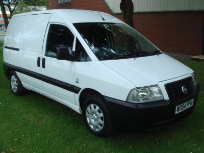 Fiat Scudo 1.9 D Panel Van 5dr Panel Van Diesel WhiteFiat Scudo 1.9 D Panel Van 5dr Panel Van Diesel White at Chequered Flag GB LTD Leeds