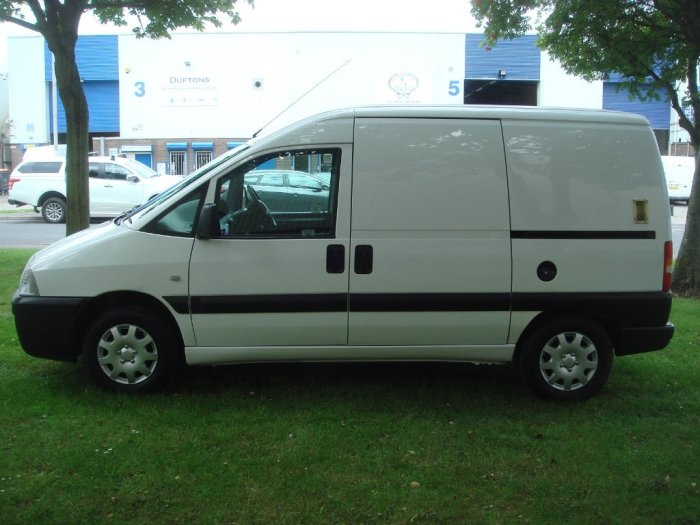 Fiat Scudo 1.9 D Panel Van 5dr Panel Van Diesel White