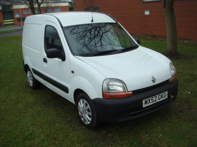 Renault Kangoo 1.5 TD dCi SL17 Panel Van 3dr Panel Van Diesel WhiteRenault Kangoo 1.5 TD dCi SL17 Panel Van 3dr Panel Van Diesel White at Chequered Flag GB LTD Leeds