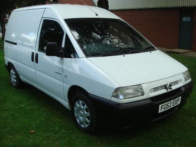 Citroen Dispatch 1.9D 815 Panel Van Panel Van Diesel WhiteCitroen Dispatch 1.9D 815 Panel Van Panel Van Diesel White at Chequered Flag GB LTD Leeds