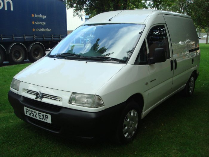 Citroen Dispatch 1.9D 815 Panel Van Panel Van Diesel White
