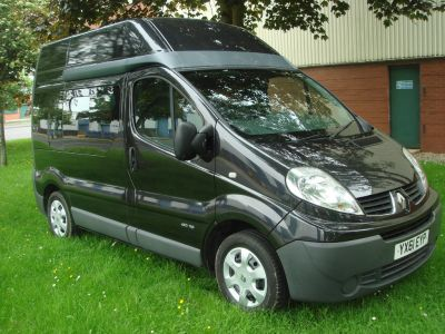Renault Trafic 2.0TD SH29dCi 115 Panel Van Panel Van Diesel BlackRenault Trafic 2.0TD SH29dCi 115 Panel Van Panel Van Diesel Black at Chequered Flag GB LTD Leeds