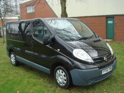 Nissan Primastar 2.0 dCi SE 2700 Low Roof Panel Van 4dr (SWB) Panel Van Diesel BlackNissan Primastar 2.0 dCi SE 2700 Low Roof Panel Van 4dr (SWB) Panel Van Diesel Black at Chequered Flag GB LTD Leeds
