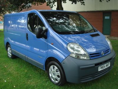 Nissan Primastar 1.9 dCi SE 2700 SWB 4dr Panel Van Diesel BlueNissan Primastar 1.9 dCi SE 2700 SWB 4dr Panel Van Diesel Blue at Chequered Flag GB LTD Leeds