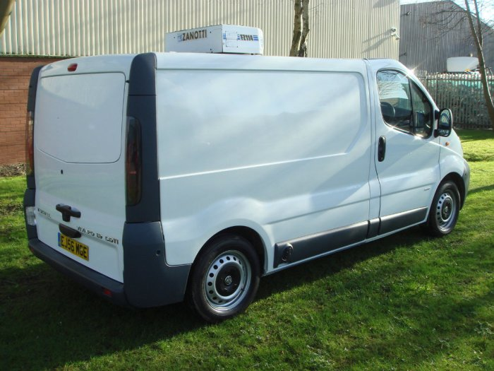 Vauxhall Vivaro 1.9 DTi 2900 Refrigerated Van 4dr (High payload, LWB) Temperature Controlled Diesel White