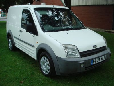 Ford Transit Connect 1.8TDCi T200 SWB L Panel Van Panel Van Diesel WhiteFord Transit Connect 1.8TDCi T200 SWB L Panel Van Panel Van Diesel White at Chequered Flag GB LTD Leeds