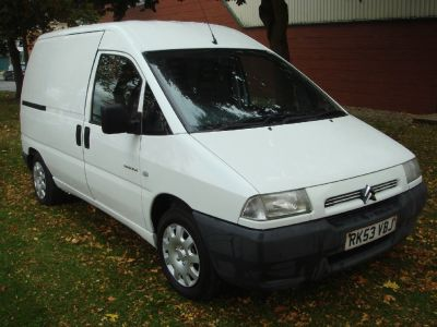Citroen Dispatch 2.0HDi 900 Panel Van Panel Van Diesel WhiteCitroen Dispatch 2.0HDi 900 Panel Van Panel Van Diesel White at Chequered Flag GB LTD Leeds