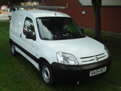 Citroen Berlingo 2.0 HDi 600TD Enterprise Panel Van 3dr Panel Van Diesel WhiteCitroen Berlingo 2.0 HDi 600TD Enterprise Panel Van 3dr Panel Van Diesel White at Chequered Flag GB LTD Leeds