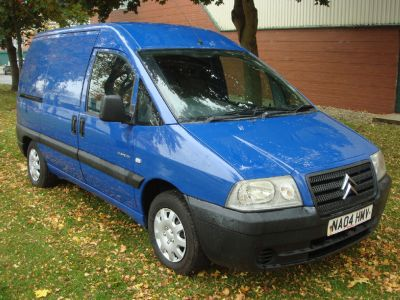 Citroen Dispatch 1.9D Enterprise Panel Van Panel Van Diesel BlueCitroen Dispatch 1.9D Enterprise Panel Van Panel Van Diesel Blue at Chequered Flag GB LTD Leeds