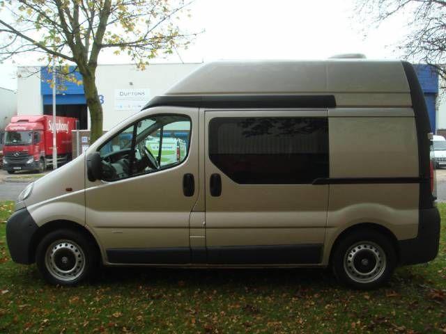 Vauxhall Vivaro 19 Executive Camper Conversion 2900 DTI SWB Motorhome Diesel Silver